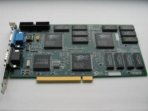 3DFX Voodoo PCI Video card