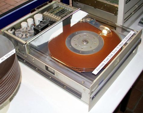 An IBM 3440/Winchester Drive