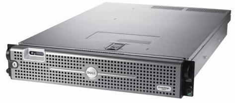 A Dell 2 U Server