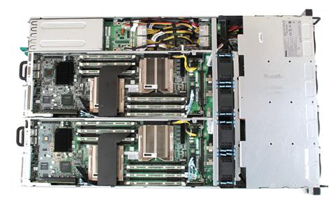 A Dell Server's Interior
