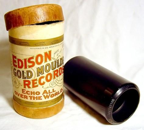 Edison Wax Cylinder Recording