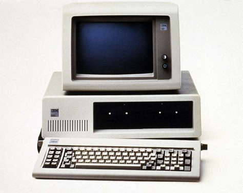 The 1982 IBM PC... Things have changed.