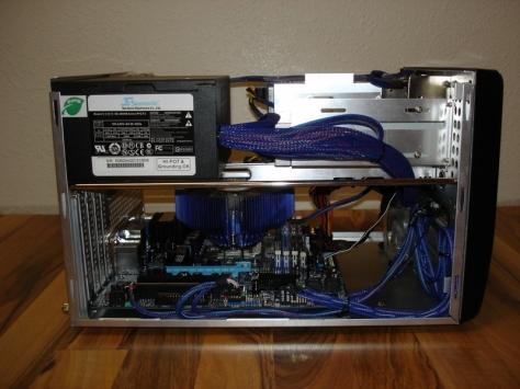 The Micro ATX machine.