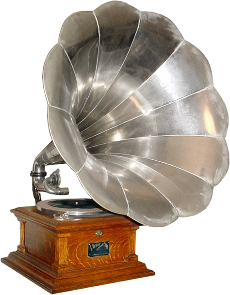 A Victor Phonograph Player from 1907