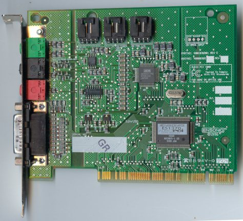 Ensoniq AudioPCI