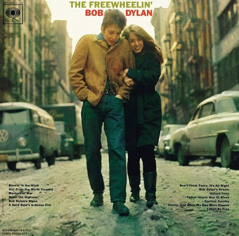 Bob Dylan Freewheelin LP Sleeve