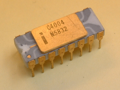 One of the earliest examples of a CPU.